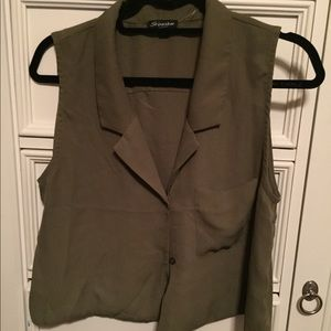 Shinestar Vest Blouse - Size XL